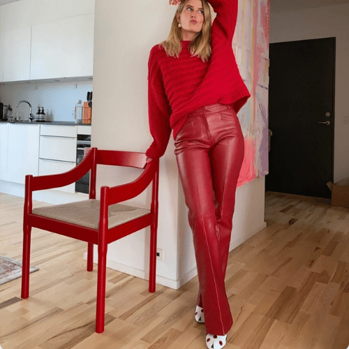 elsa white shoes with red outfit